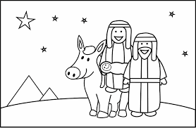 Small Picture Mary And Joseph Coloring Pages 540 Free Printable Coloring Pages