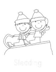 Click on the print option right next to the picture. Free Winter Coloring Pages
