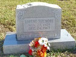 Lorene Sizemore (1928-1963) - Find A Grave Memorial