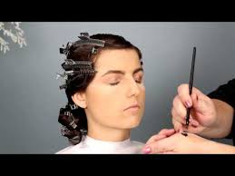 1920s bridal hair and makeup tutorial you