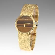 bueche girod gold and tiger s eye watch 04 07 16 bueche girod gold and tiger s eye watch