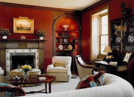 red is a perfect fit in traditional homes by sroka design