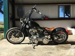 2009 custom built motorcycles bobber style motorcycle for sale in