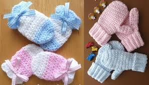 Crochet Baby Mittens Pattern