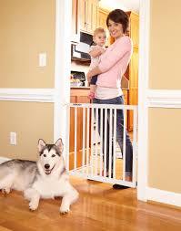 storkcraft easy walkthru wooden safety gate  white