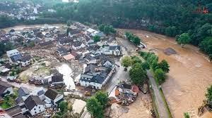 صور.. فيضانات أوروبا: أكثر من 110 قتلى مع تواصل عمليات البحث