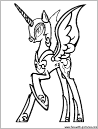 Small Picture My Little Pony Nightmare Moon Coloring Pages GetColoringPagescom