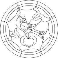 best pennsylvania dutch designs images single distelfink hex sign pattern