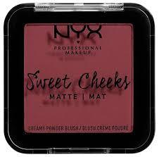 <b>NYX professional makeup Матовые</b> прессованные румяна Sweet ...