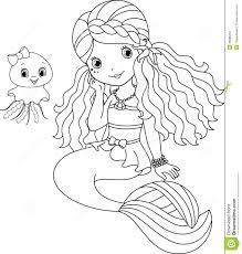 Free Coloring Pages Of Cute Baby Mermaids 2325 Baby Mermaid