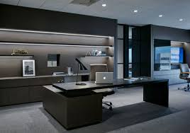 Modern Corporate Office Interior Design Victoria Commercial 2015 Sophisticated Monochrome And
