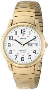 silver bands two tones and watches timex men s t20471 easy reader gold tone expansion band watch