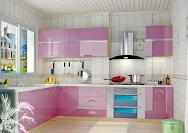 Pink Kitchen White Kitchen With Pink Purple Appliances Amazing Architecture