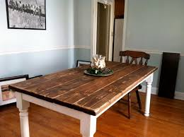 how to build a vintage style dining room table yourself within ideas 7