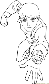 Small Picture Ben 10 Omniverse Coloring Page Free Ben 10 Coloring Pages