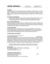 Objective Statements For Resumes Objective Sentences For Resumes Marketing Resume Objective 50