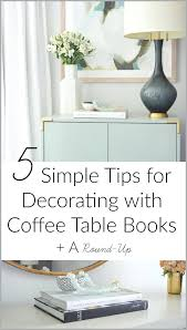 decorating books small images of home 5 simple tips for with coffee table a bookshelves
