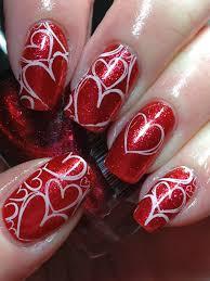 Canada Day Gel Nail Designs Canadian Nail Fanatic Valentine Nail Nails Nailart