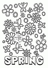 Spring Coloring Pages Free Printable Inspirational And At Printable