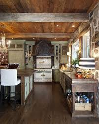 Antique Kitchens Rustic Kitchen Furniture A Rustic Country Kitchen With A Splash