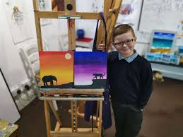Ramsgate child prodigy, seven, nicknamed Vincent Van Gogh for his ...