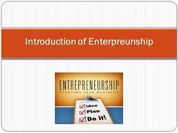 Introduction To Entrepreneurship Introduction Of Entrepreneurship Carrie Wharton Priest