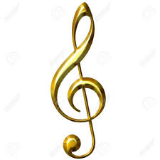 Giant Music Sign Treble Clef Victoria Party Store