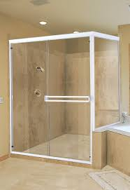 attractive semi frameless shower doors with c line semi frameless sliding holcam bath shower enclosures