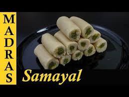 All type of tamil samayal (recipes) here. Kaju Pista Roll Recipe In Tamil Cashew Pistachio Rolls Recipe In Tamil Sweet Recipes In Tamil Youtube Rolls Recipe Sweet Recipes Recipes In Tamil