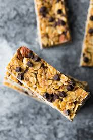 chewy peanut butter bars. Modren Bars A Stack Of Chewy Peanut Butter Granola Bars In