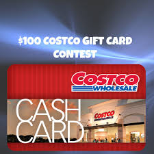 100 costco gift card