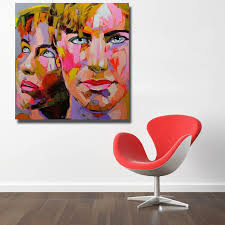 oil painting supplies man and women knife painting home decoration wall art artist oil painting hand painted no framed in painting calligraphy from home