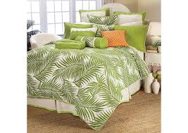 capri 4 piece green fern print super