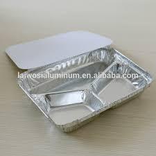 Jetable Effectuer 3 Compartiments Conteneur Alimentaire En Papier D ...
