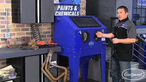 Benchtop Blast Cabinet Blast Cabinet Abrasive Blasting Tips From Eastwood Plus A