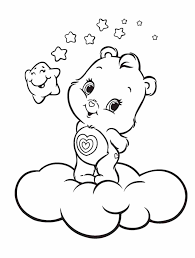 Small Picture Bear Coloring Page Teddy Bear Coloring Pages Happy Birthday