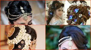 10 most beautiful indian bridal hairstyle images