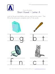 See our extensive collection of esl phonics materials for all levels, including word lists, sentences, reading passages, activities, and worksheets! Short Vowel A Worksheet All Kids Network