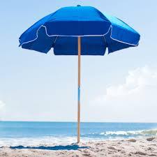 ft frankford steel beach umbrella  acrylic fabric  beach