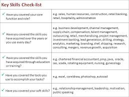 Key Skills Resume Examples - Examples of Resumes