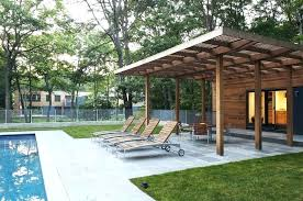 modern awning ideas awning ideas for patio corrugated metal design modern with lounge chairs fence