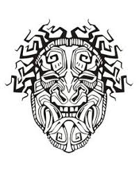 Small Picture Adult Coloring Pages Mayan Mask 1 Adult Coloring Pages