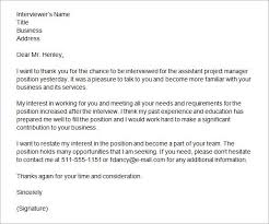Thanks Letter After Phone Interview Thank You Letter After Interview With Recruiter Sample Sample