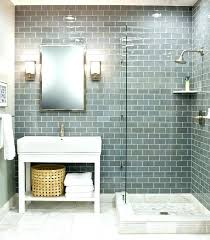 subway tile with accent bathroom glass tile the best glass tile bathroom ideas on subway tile