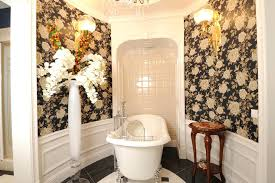 over the tub caddy dazzling bathtub bathroom traditional with beguiling wallpaper backing next to ravishing shower over the tub caddy
