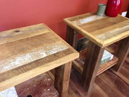 reclaimed wood nightstand. Reclaimed Wood Chicago Gallery: Barn Nightstand A