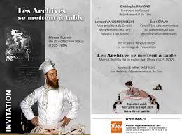 Archives Départementales Du Tarn Expositions En Cours