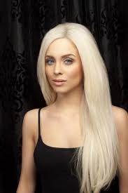 platino | Platinum blonde hair, White blonde hair, Beautiful long hair