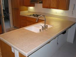 ceramic tile kitchen countertop pattern