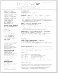 Sample Resume With Github Best Of GitHub DeedyDeedyResume A One Page Two Asymmetric Column